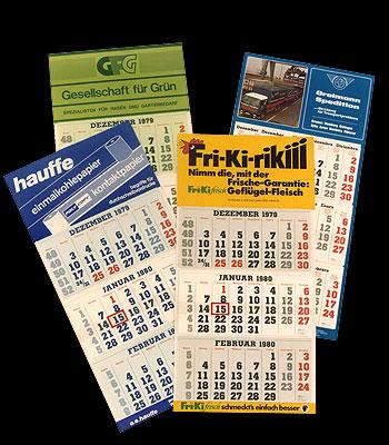 Du Calendrier Maritime de Brême à l'Assortiment de Calendriers Publicitaires au Succès Mondiale