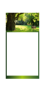 Calendrier 3 Mois planer avec bord Exemple