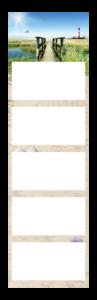 Calendrier 5 Mois super 1 cinco Exemple