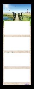 Calendrier 4 Mois super 2 Quadro Exemple