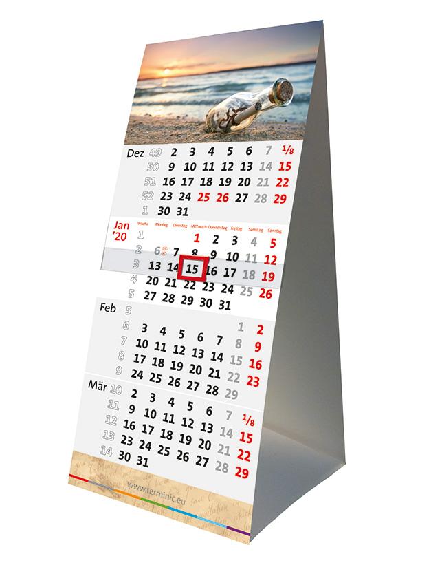 Les calendriers de bureau – La  famille s'agrandit